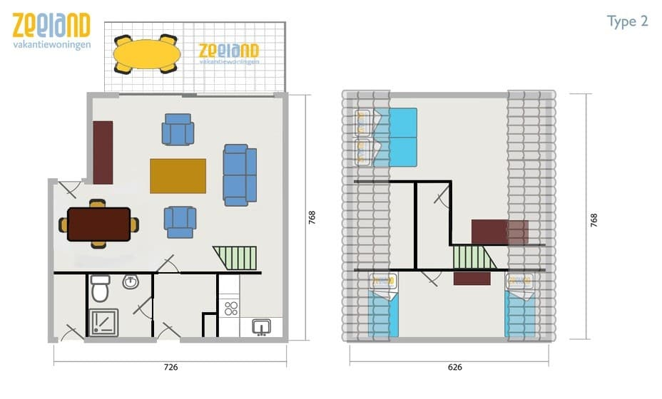 Ferienhaus Botterlaan 7